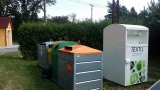 instalace kontejneru na textil Drhovice