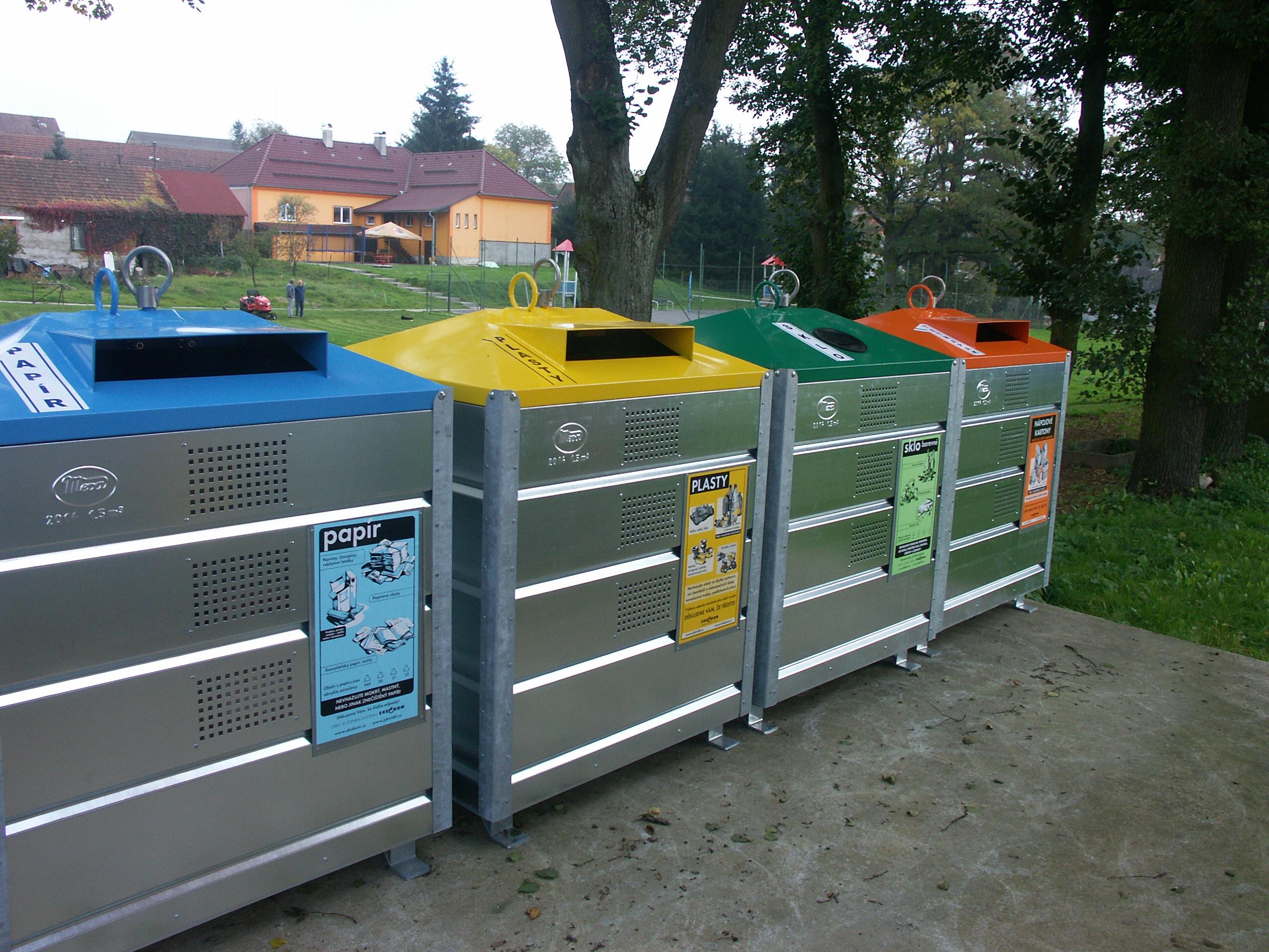 instalace kontejnerů Vlčeves